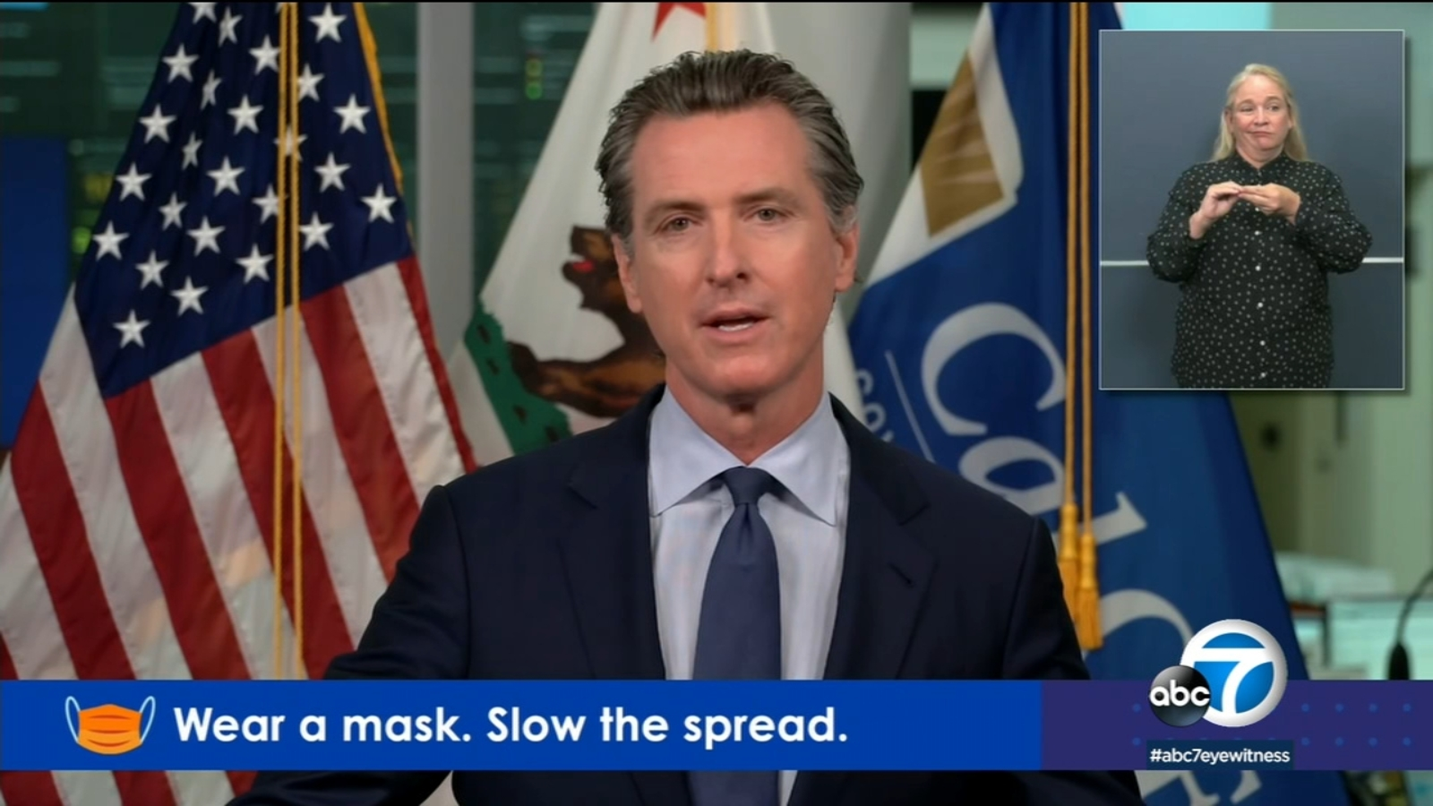 California is preparing for another surge in COVID-19 hospitalizations, Newsom says