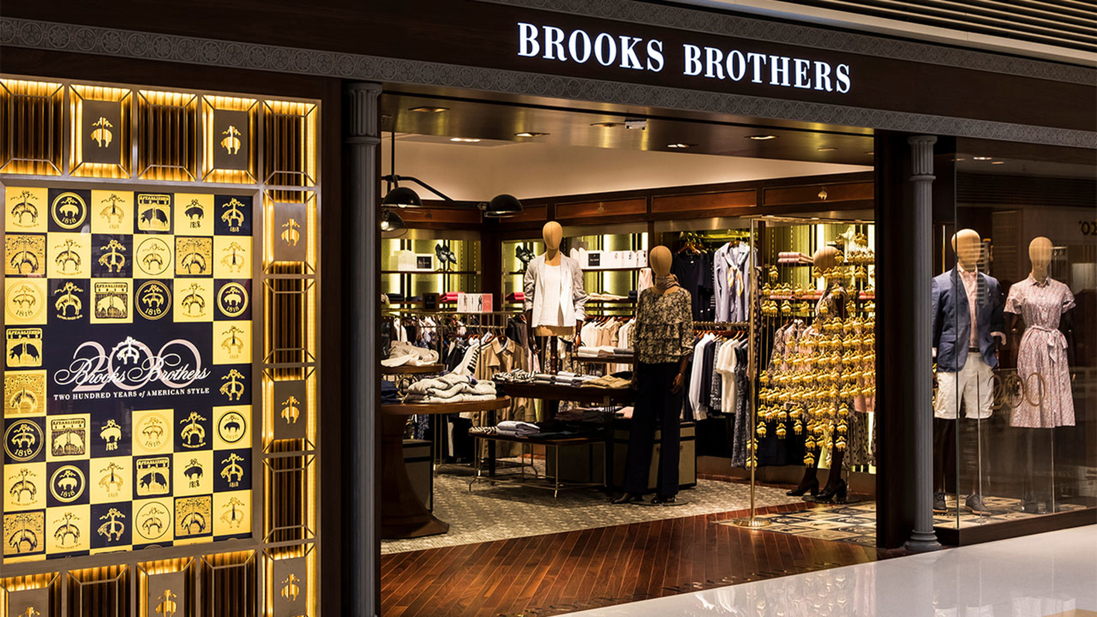 Brooks Brothers, worn by Lincoln and Kennedy, files for bankruptcy