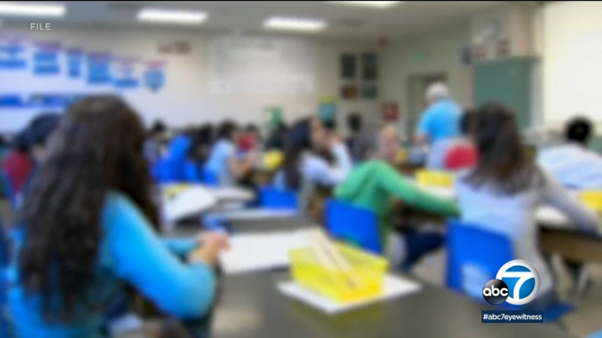 Coronavirus Health Officials Suggest Los Angeles County Schools Have Plan B For Reopening If Community Transmission Spikes Abc7 Los Angeles