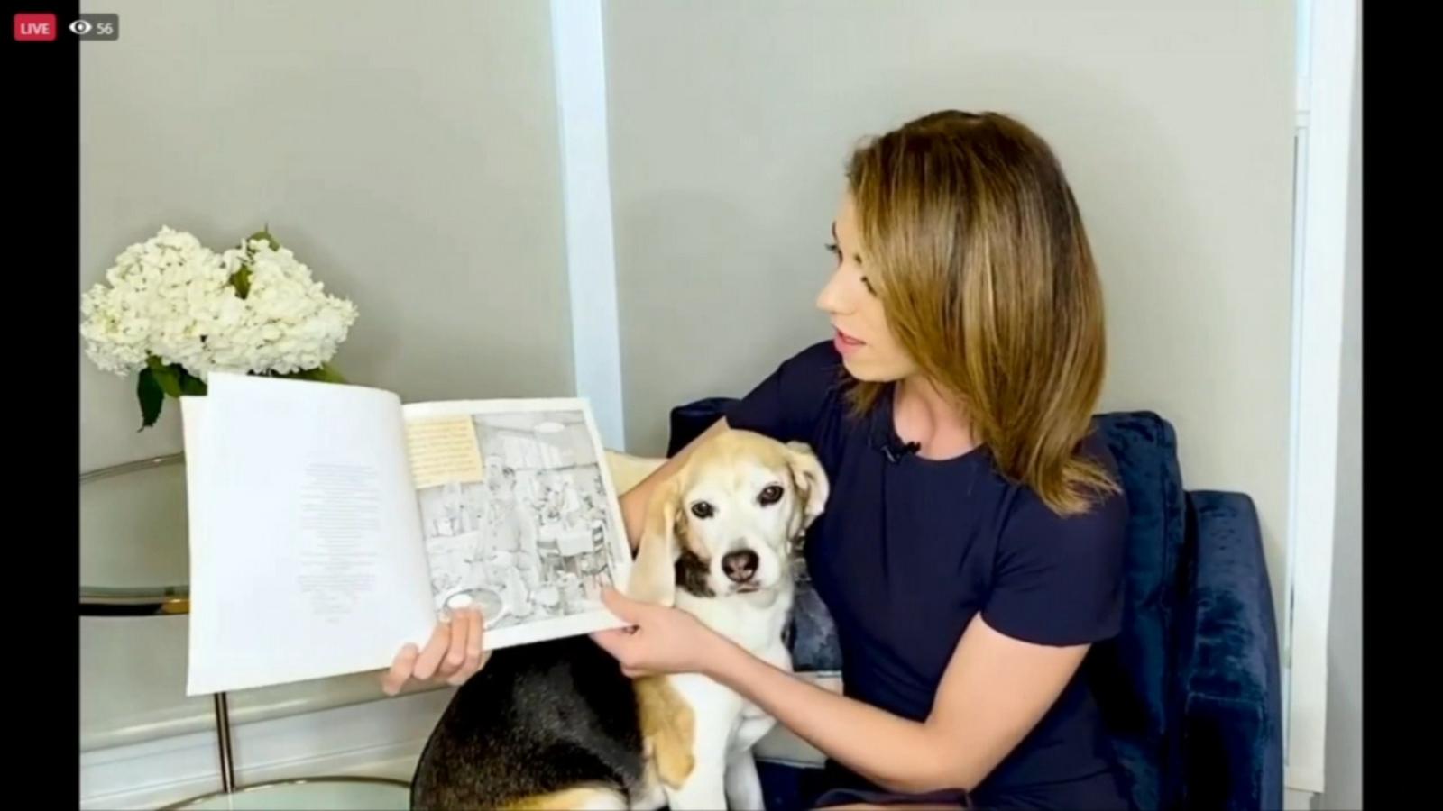 ABC7's Cheryl Scott reads to children during Chicago