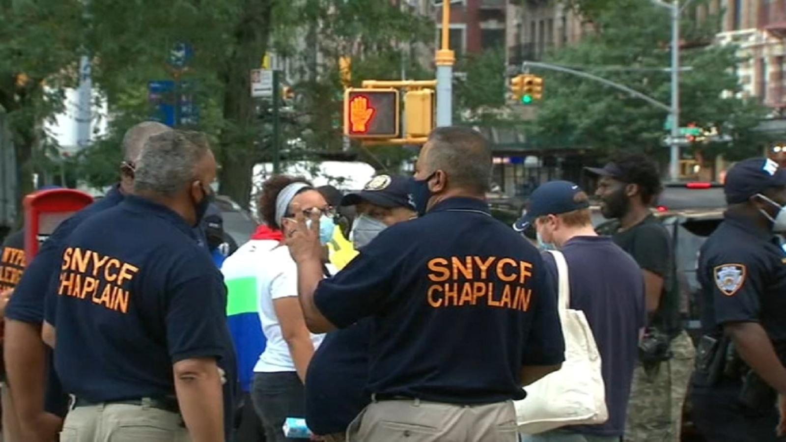 Harlem residents occupy intersection plagued by shootings
