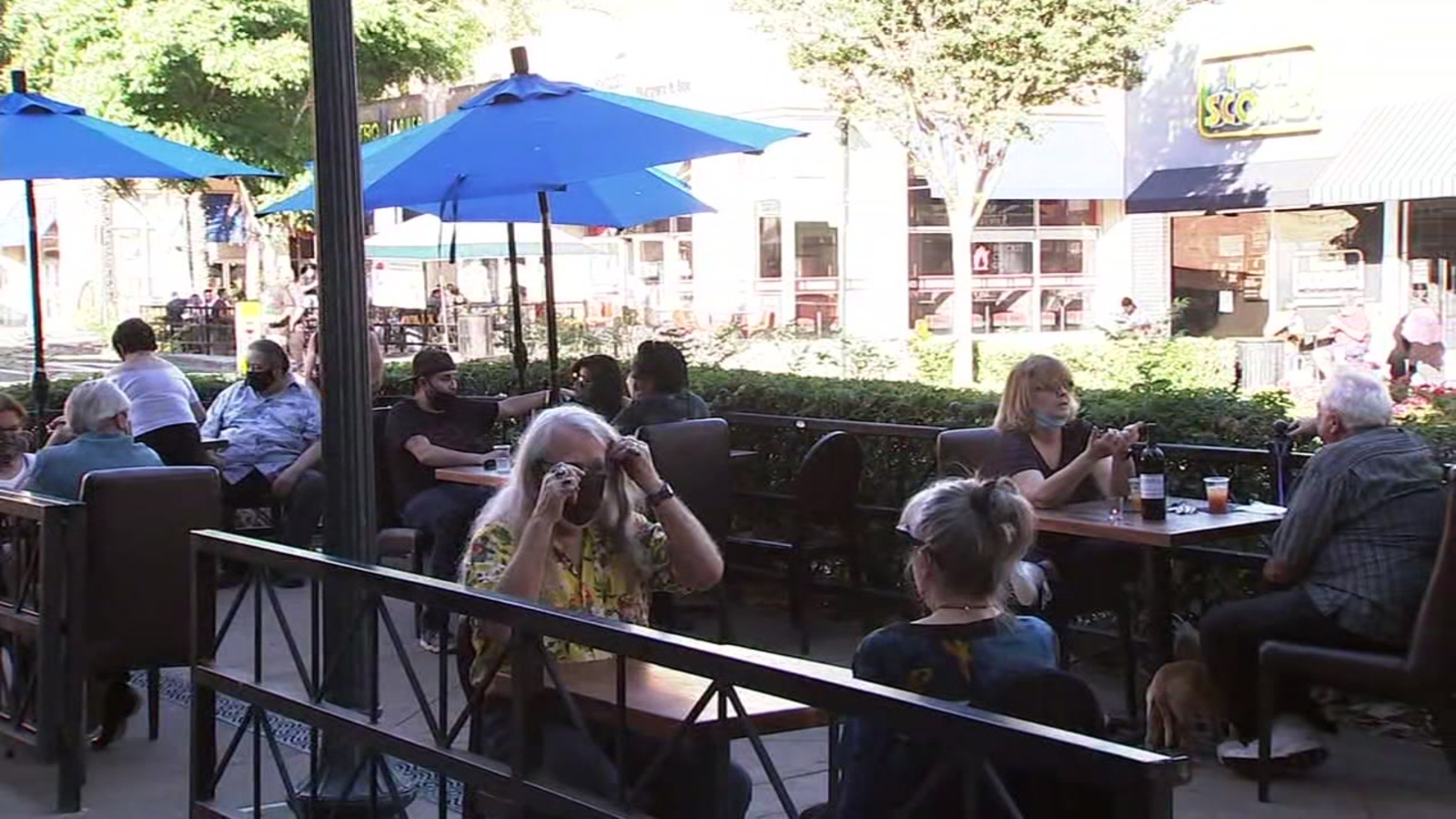 Coronavirus Impact: Some restaurant owners, cities outraged after Alameda County suspends outdoor dining - KGO-TV