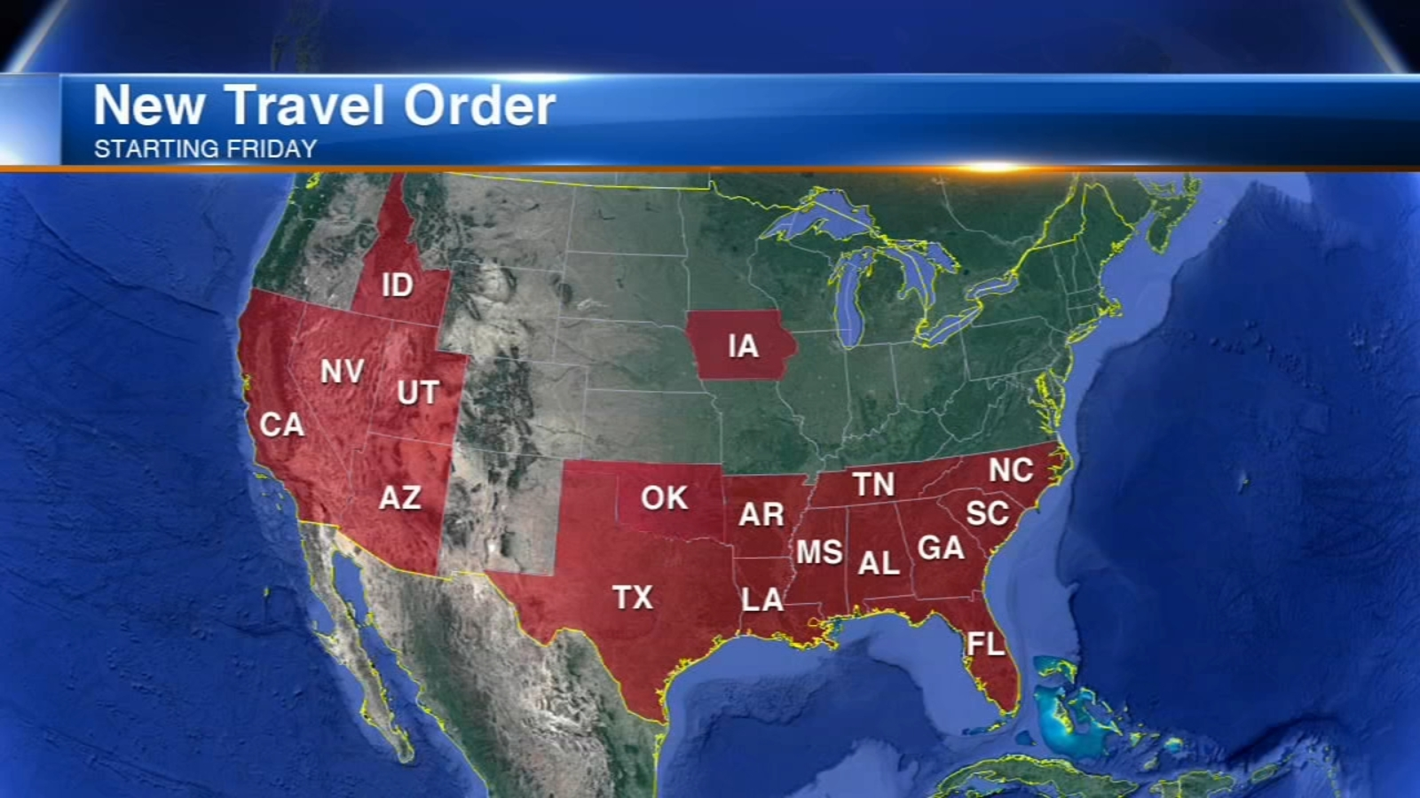 Chicago quarantine: Kansas added to city's travel order for states with surging COVID-19 rates, Wisconsin could be next