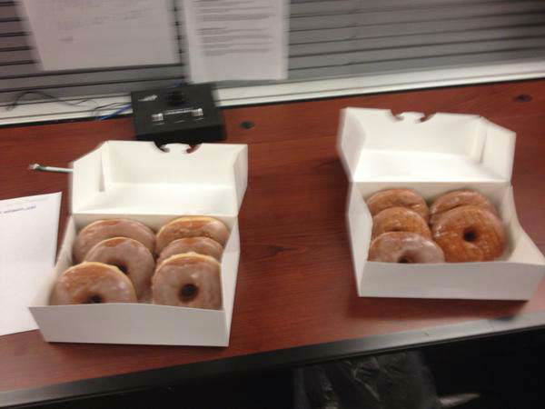 """<div class=""""meta image-caption""""><div class=""""origin-logo origin-image none""""><span>none</span></div><span class=""""caption-text"""">Chauncy Glover brought Easter treats to the newsroom (KTRK Photo)</span></div>"""
