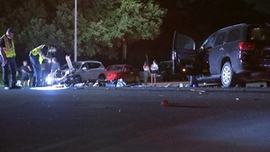 Driver arrested after woman hit, killed crossing south