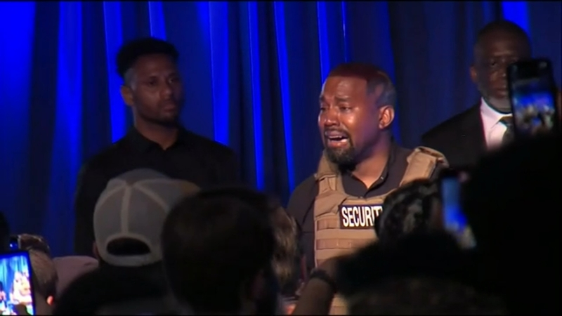 Kanye West 2020 Rapper Criticizes Harriet Tubman At North Charleston South Carolina Political Rally Abc11 Raleigh Durham