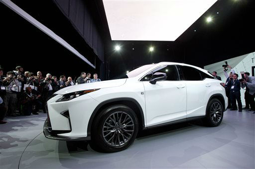 "<div class=""meta image-caption""><div class=""origin-logo origin-image none""><span>none</span></div><span class=""caption-text"">The 2016 Lexus RX is introduced at the New York International Auto Show (AP Photo/ Mark Lennihan)</span></div>"