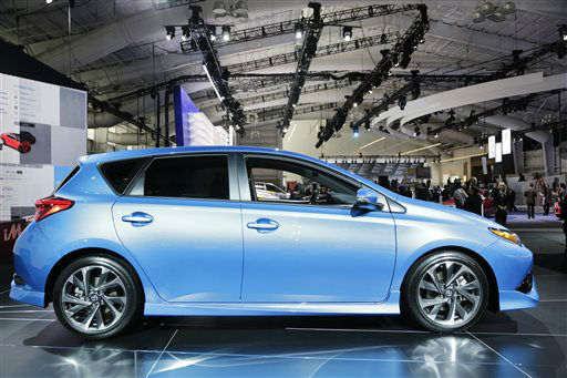 "<div class=""meta image-caption""><div class=""origin-logo origin-image none""><span>none</span></div><span class=""caption-text"">The 2016 Toyota Scion iM is on display at the New York International Auto Show (AP Photo/ Mark Lennihan)</span></div>"