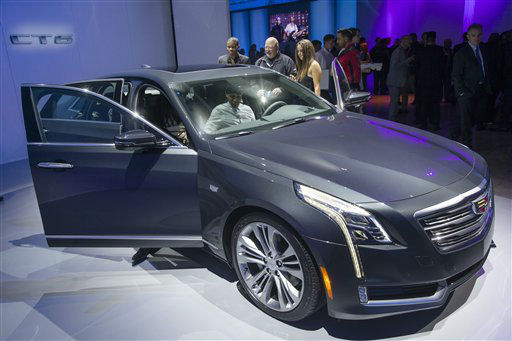 "<div class=""meta image-caption""><div class=""origin-logo origin-image none""><span>none</span></div><span class=""caption-text"">The Cadillac CT6 is shown at the New York International Auto Show event in Duggal Greenhouse in Brooklyn (AP Photo/ John Minchillo)</span></div>"