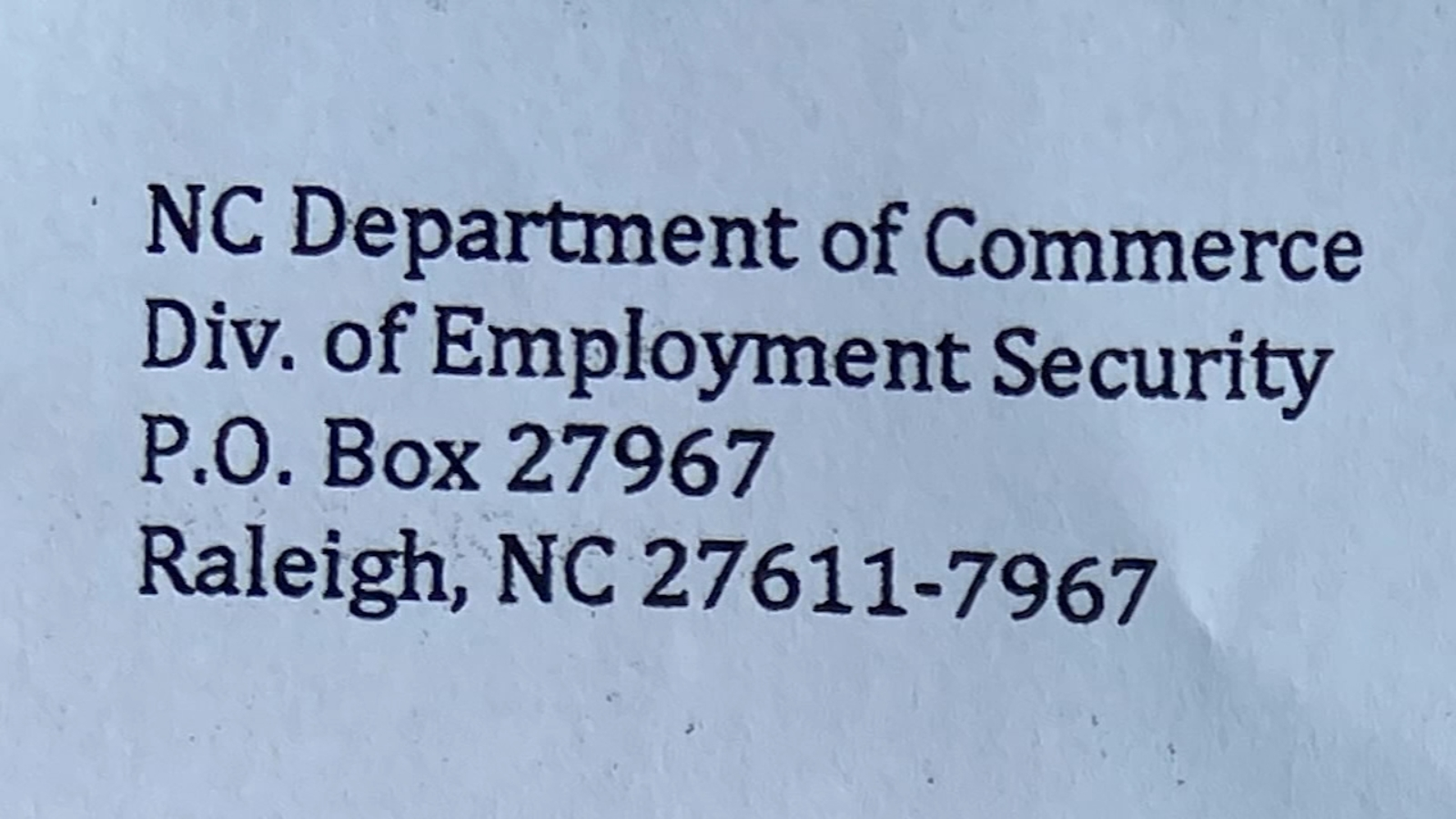 North Carolina Sends Thousands In Fraudulent Unemployment Claims During Covid 19 Pandemic Abc11 Raleigh Durham