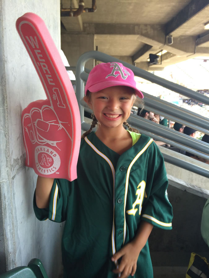 "<div class=""meta image-caption""><div class=""origin-logo origin-image none""><span>none</span></div><span class=""caption-text"">Let's go A's!  Send in your Oakland Athletics pride photos to ABC7 News and we may share them on TV! (Photo submitted by Sara B./KGO-TV uReport)</span></div>"