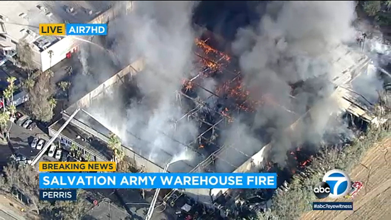 Building Fire Abc7 Los Angeles