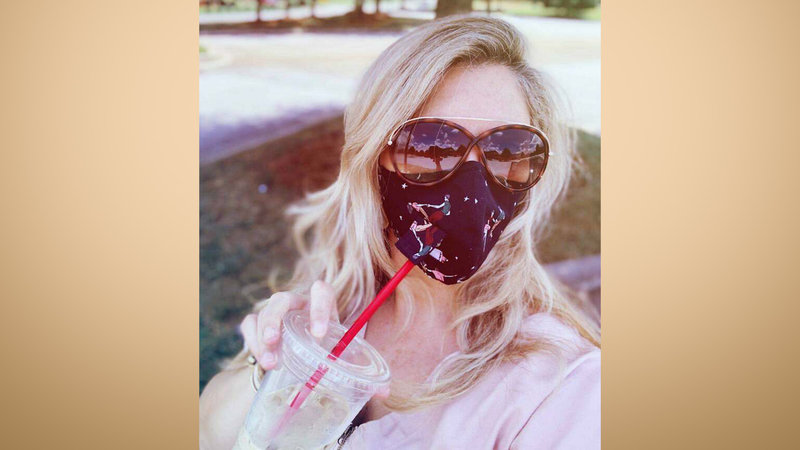 Fashion Designer Borris Powell Creates A Mask You Can Drink In Abc7 Los Angeles