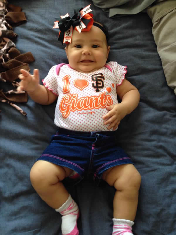 "<div class=""meta image-caption""><div class=""origin-logo origin-image none""><span>none</span></div><span class=""caption-text"">Let's go Giants! Send your SF Giants pride photos to ABC7 News and we may share them on TV or online! (Photo submitted to KGO-TV by Jessikah V./Facebook)</span></div>"