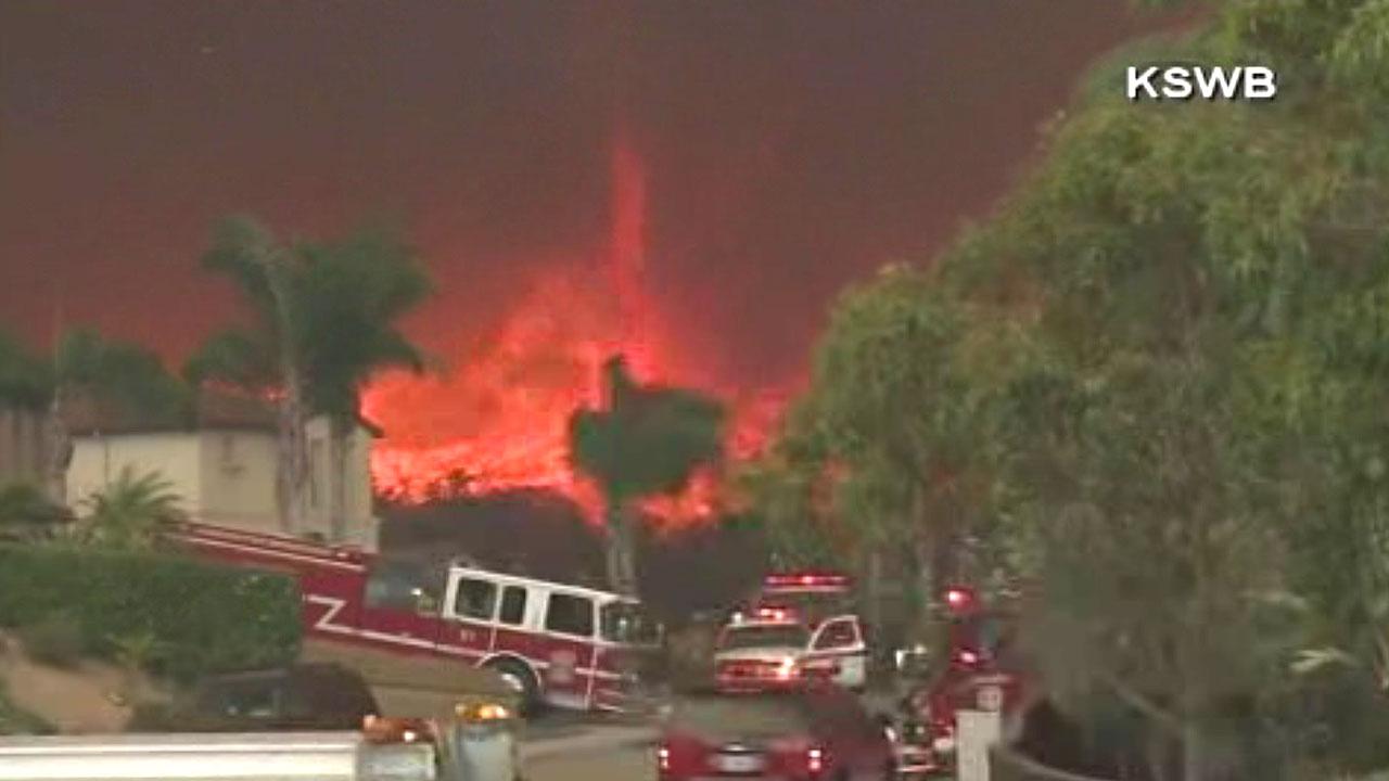 PHOTOS: 'Firenado' in San Diego County California | abc7 com