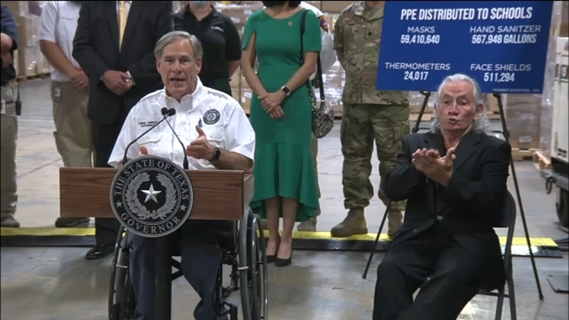 Back To School Gov Abbott Says Texas Schools Should Decide Reopening Abc13 Houston