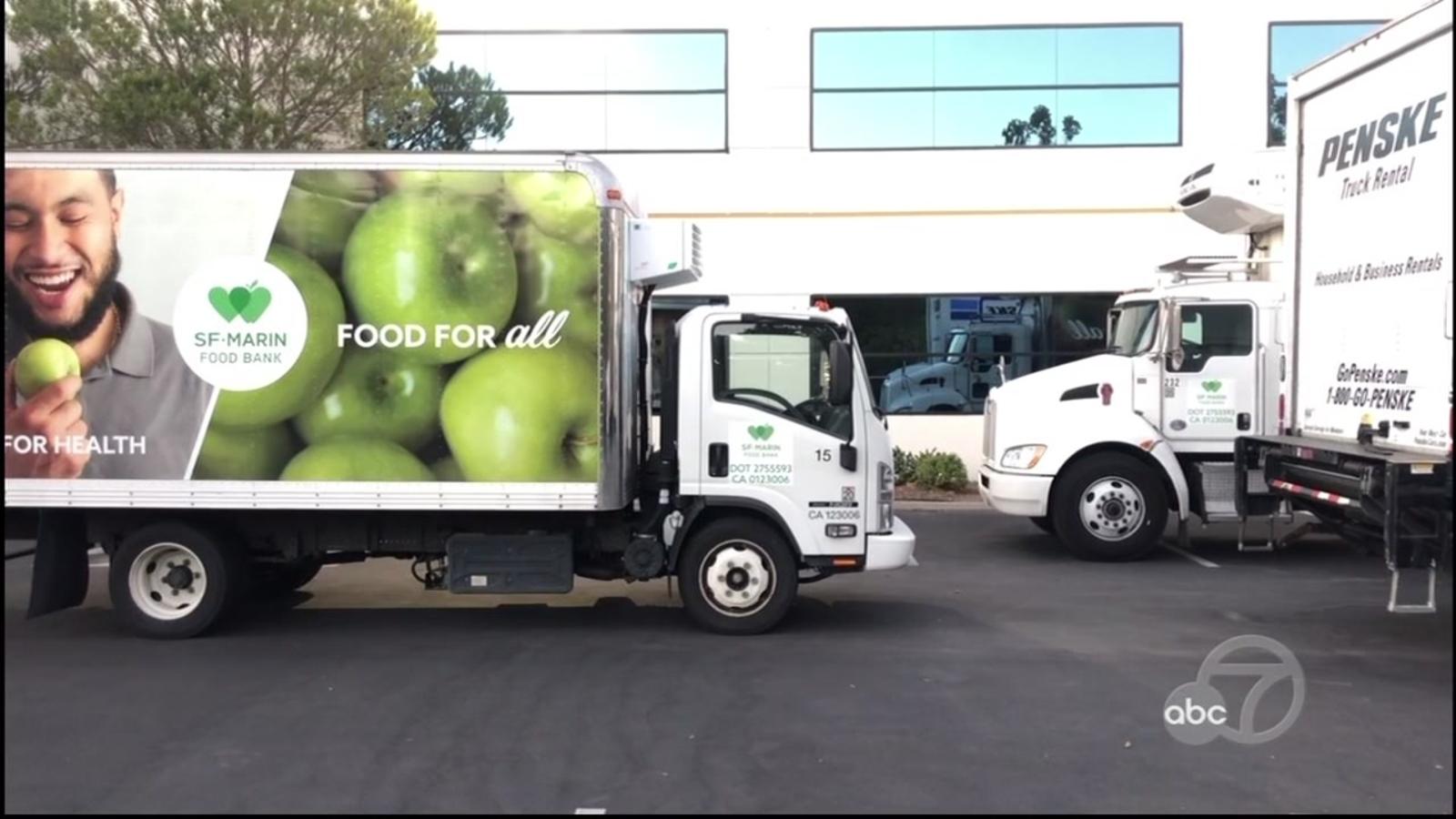 Vandals damage gas tanks of 5 delivery trucks belonging to North Bay food bank