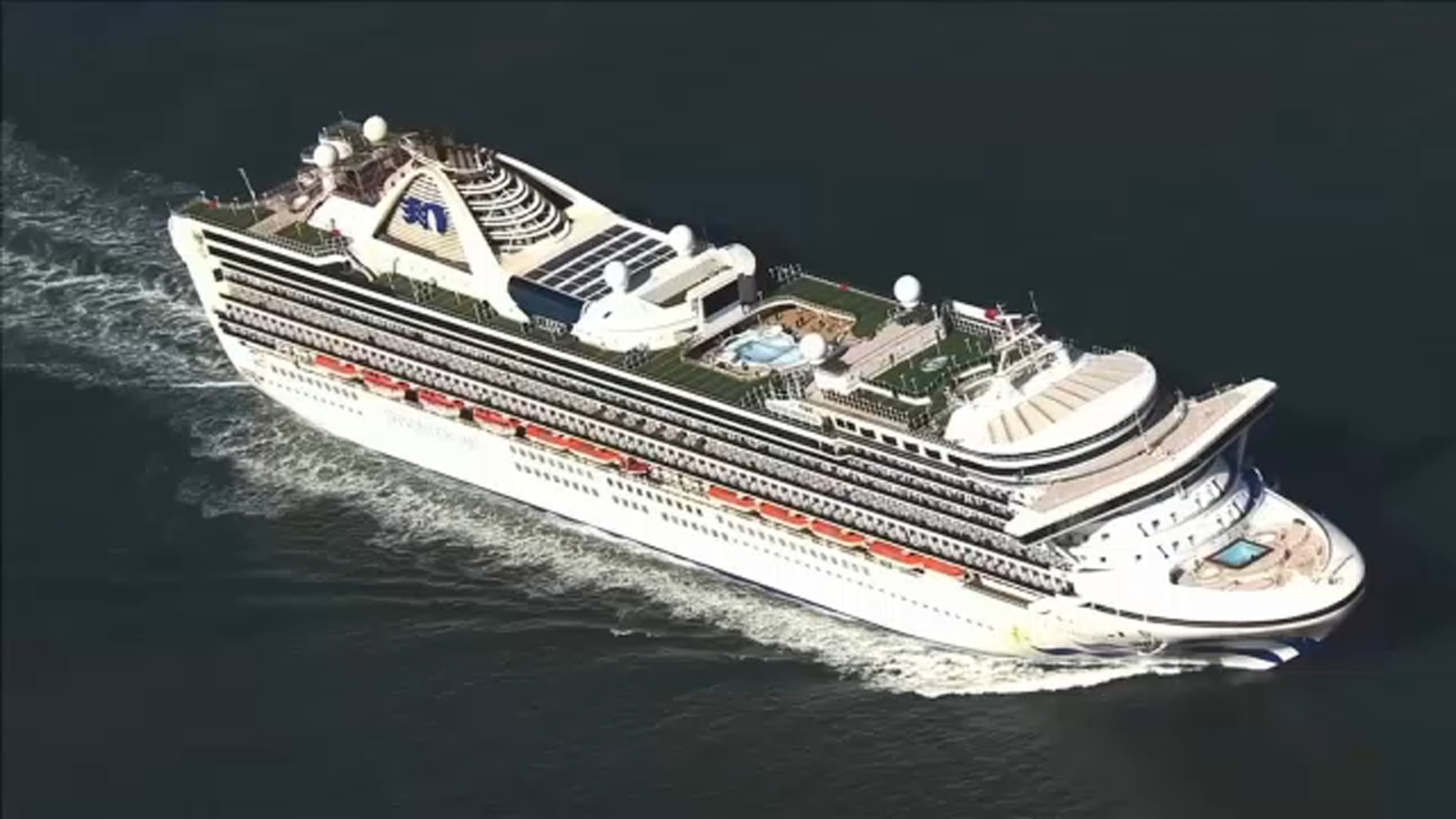 Another cruise ship stalled over coronavirus case