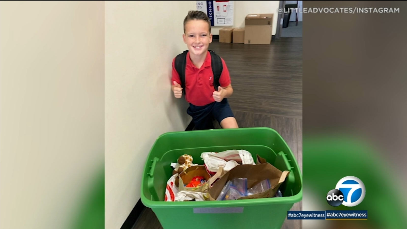 Anaheim 10-Year-Old Starts 'Little Advocates' Foundation to Help Those in Need