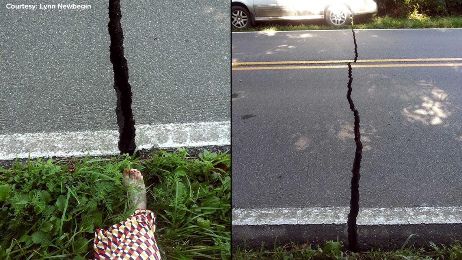 earthquake. in nc - photo #1