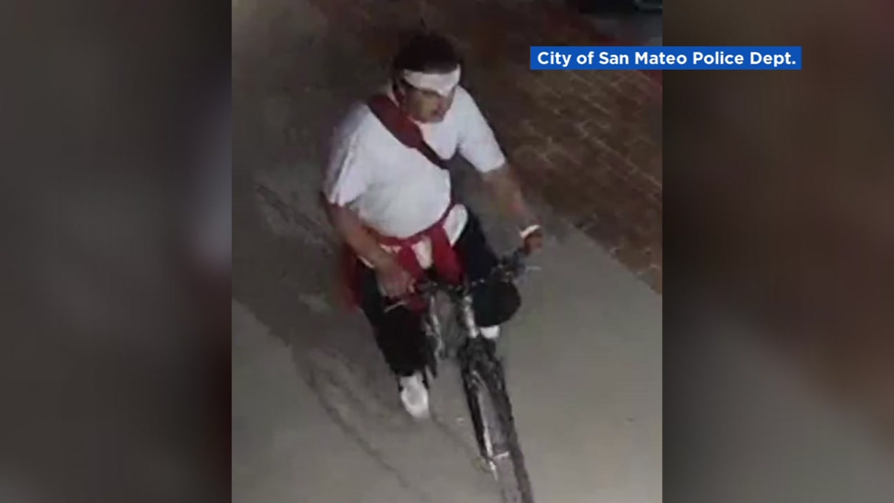 This image shows the sex assault suspect who police describe as described as male, White or Hispanic, in his late teens to early 20s, light skinned, average build and height, in San Mateo, Aug. 5, 2020.