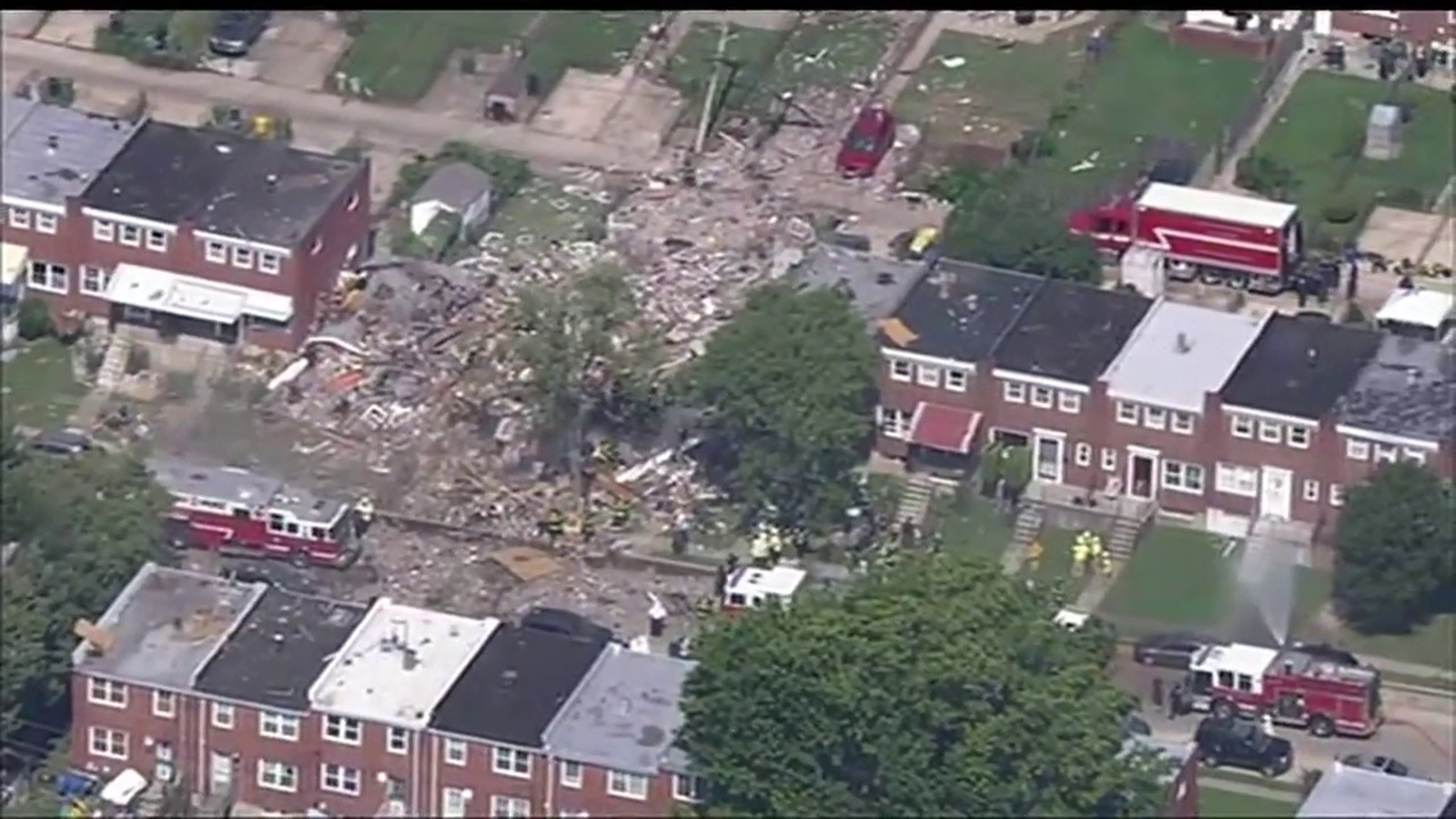 Baltimore explosion today