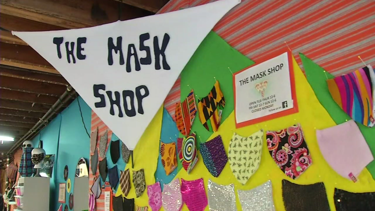 San Francisco Man Creates Thriving Face Mask Shop After Being Laid Off During Covid 19 Shelter In Place Order Abc7 San Francisco