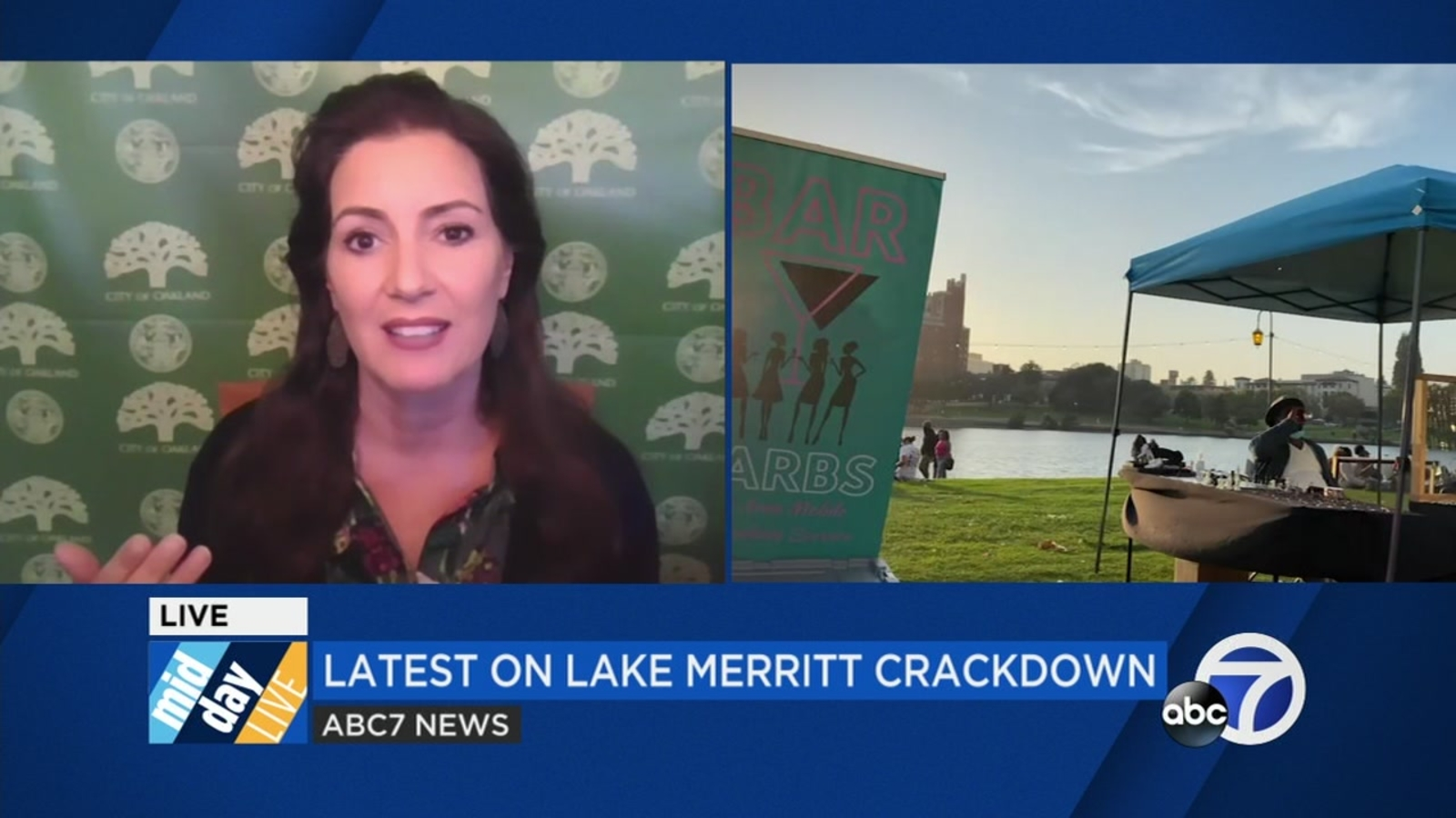 Oakland Mayor Schaaf says of out-of-town vendors at Lake Merritt pisses her off