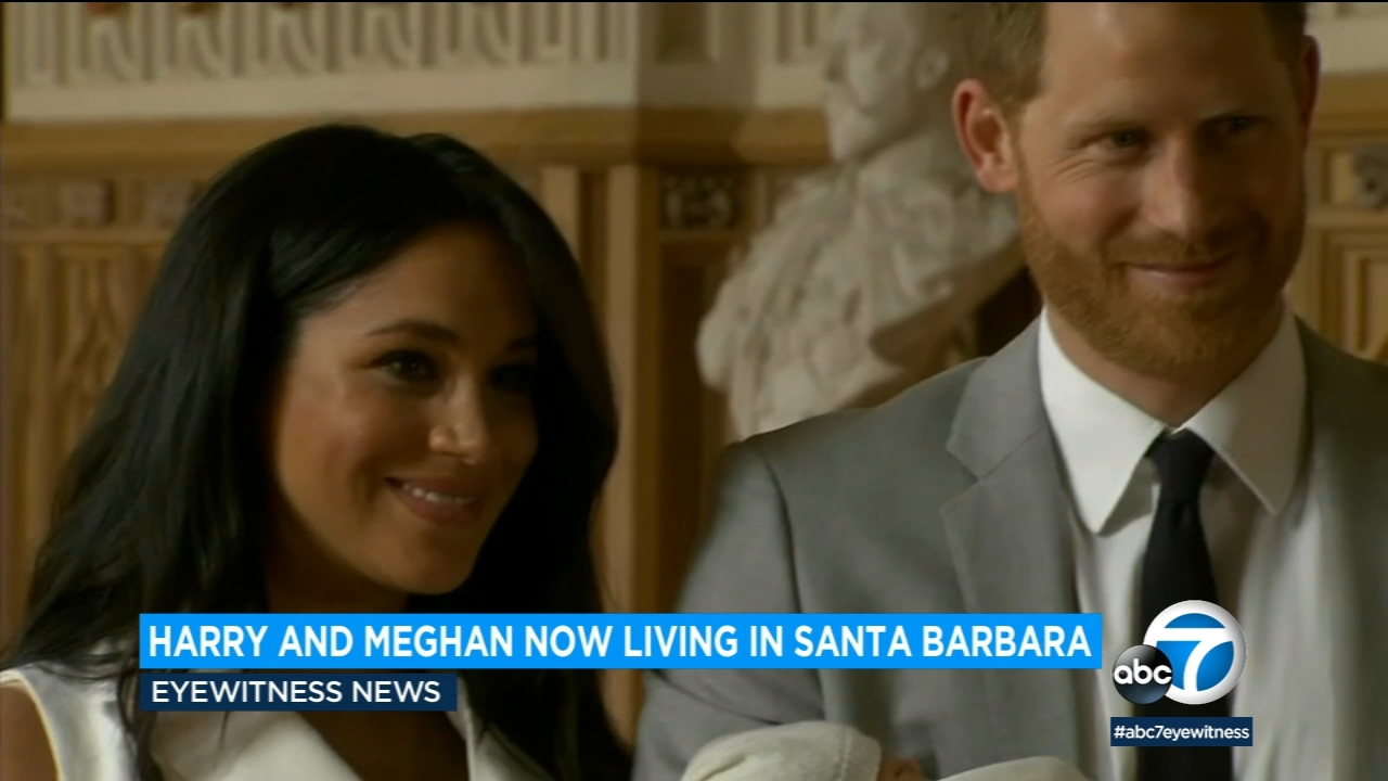 prince harry meghan markle move to home in santa barbara abc7 com prince harry meghan markle move to