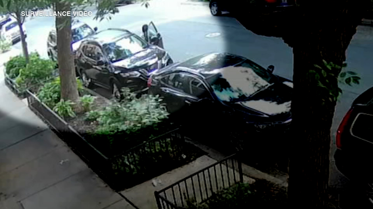 Bucktown carjacking caught on video, armed man targets woman Thursday morning
