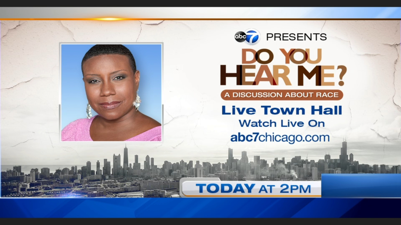 ABC 7 Chicago presents: Do You Hear Me? A Discussion about Race, a virtual town hall with ABC 7's Evelyn Holmes