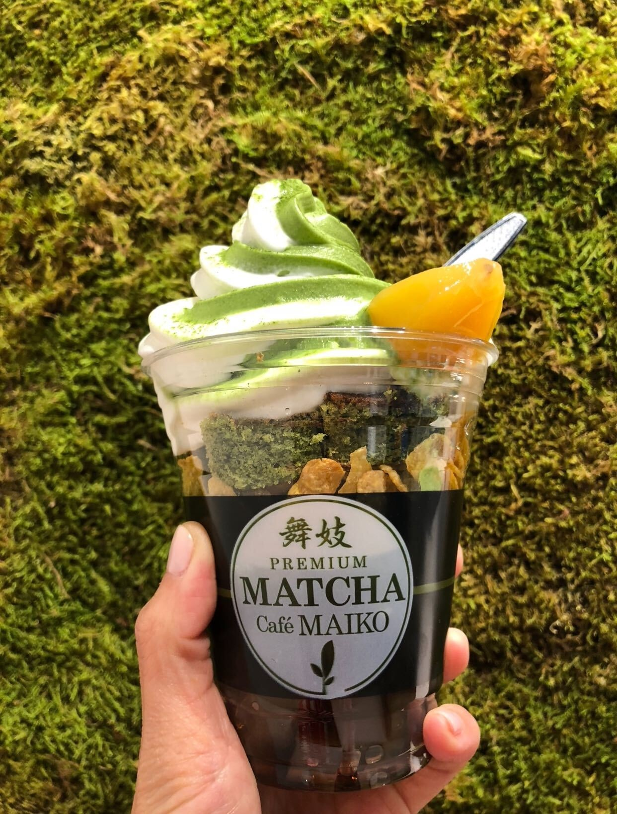 The loaded maiko special at Matcha Cafe Maiko in San Francisco.