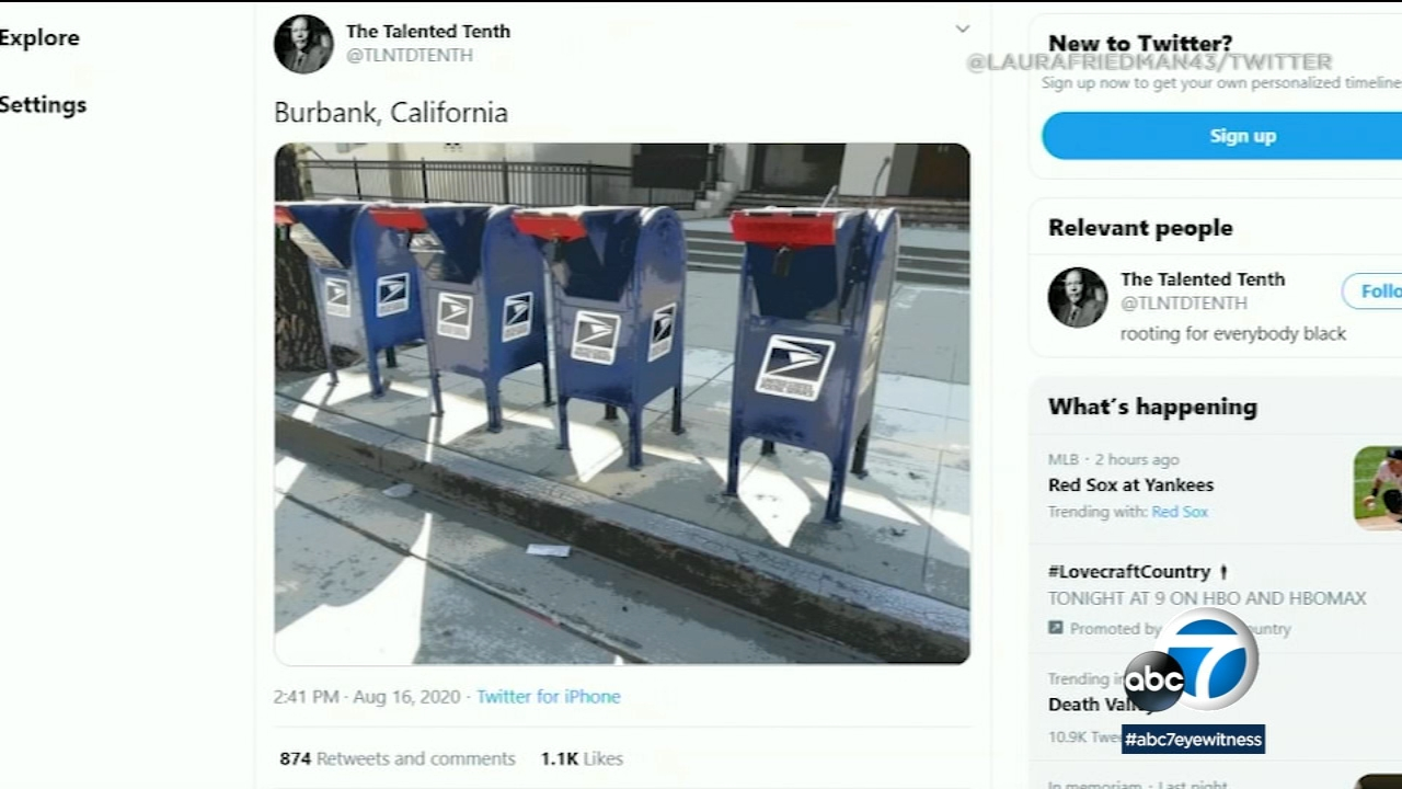Picture of: Social Media Posts Of Locked Mailboxes In Burbank Go Viral Abc7 Los Angeles
