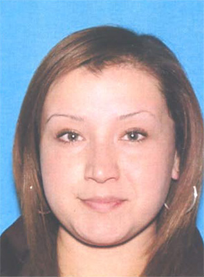 Monique Rivera is seen in this photo from the California Department of Motor Vehicles.