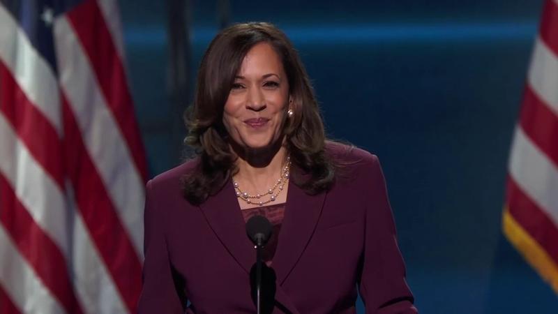 Dnc 2020 Kamala Harris Makes History With Vp Acceptance Speech Watch Abc7 San Francisco