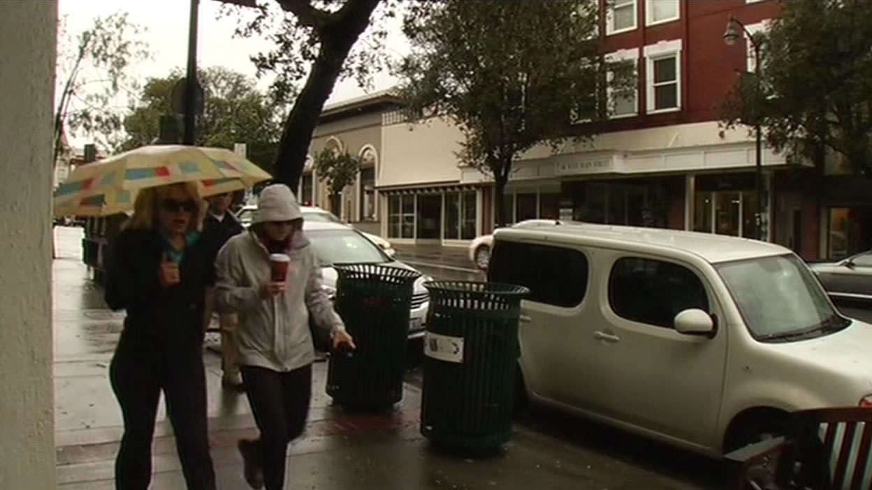 "<div class=""meta image-caption""><div class=""origin-logo origin-image none""><span>none</span></div><span class=""caption-text"">People walking in the rain in Los Gatos on Tuesday, April 7, 2015. (KGO-TV)</span></div>"
