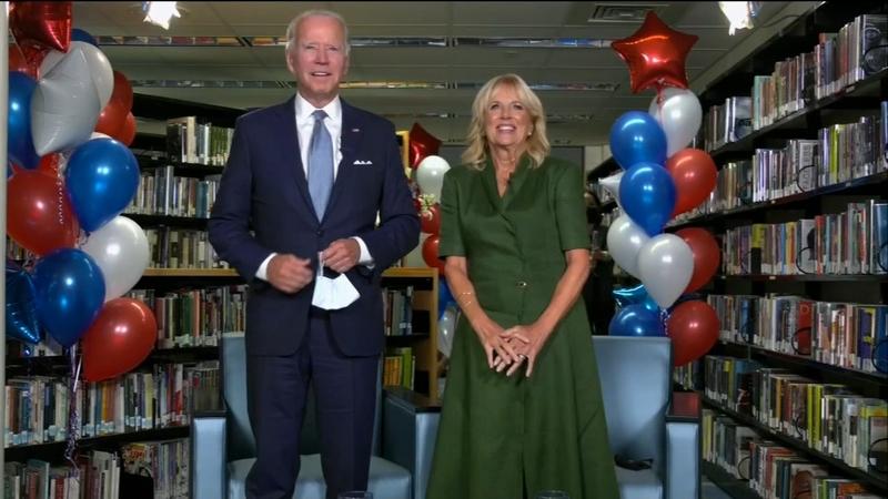Dnc 2020 Joe Biden Steps Into Spotlight To Accept Democratic Party Nomination Sen Tammy Duckworth Addresses Convention Abc7 Chicago