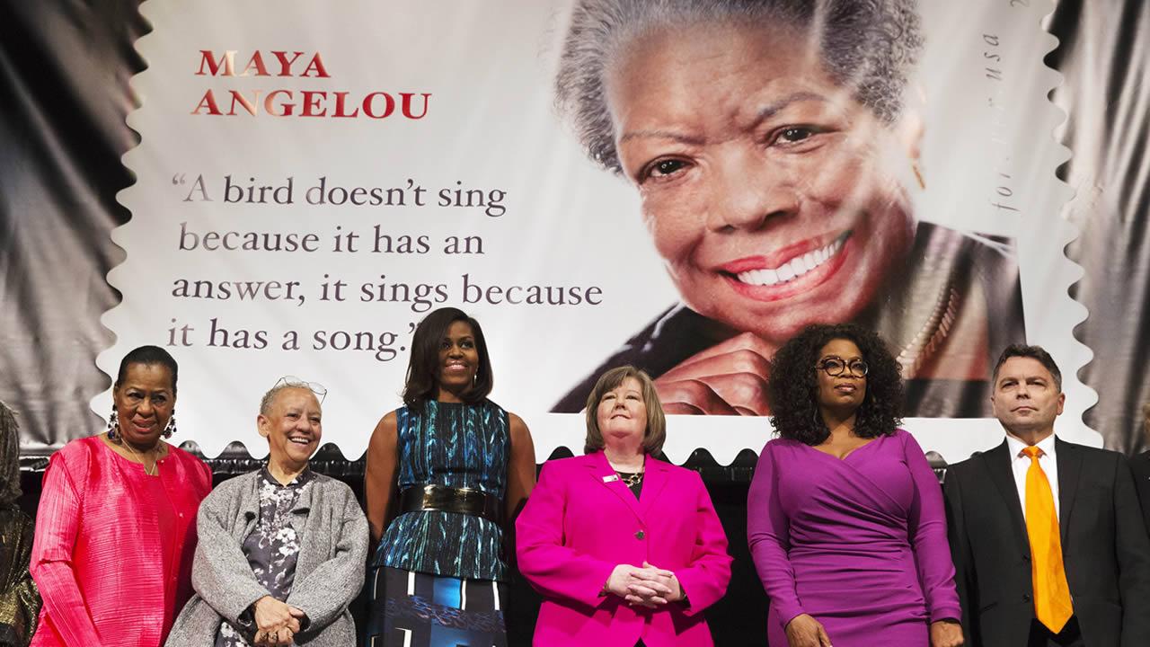 Maya Angelou Forever Stamp