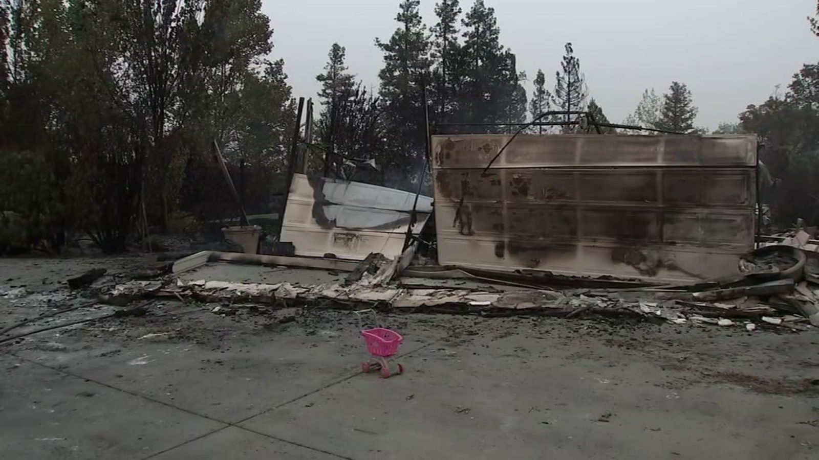'We're devastated': Vacaville family who fled wildfire returns to find 'forever home' destroyed