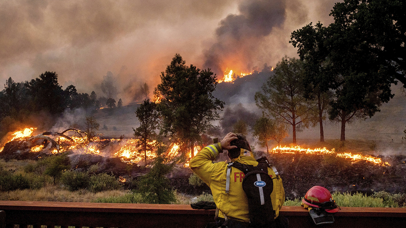 Like Armageddon': California's 2021 wildfire season could be extreme, state  officials warn - ABC7 San Francisco