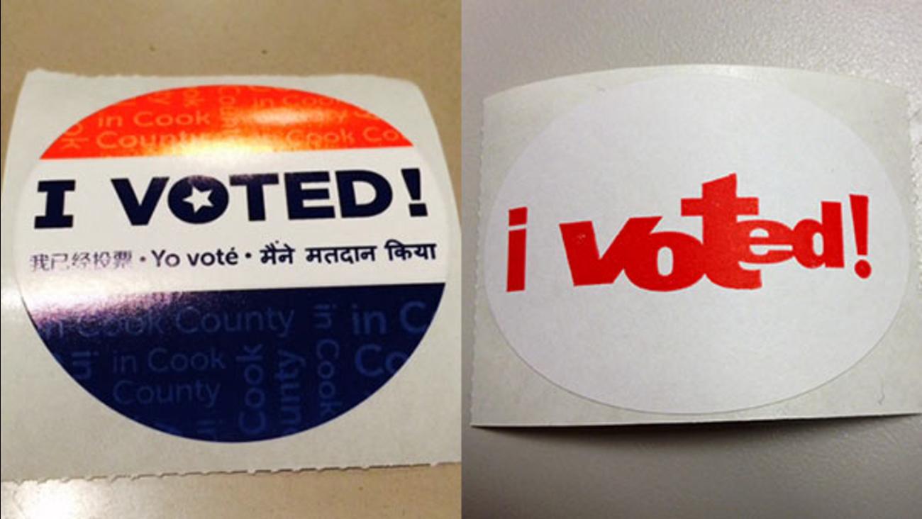 new voting stickers