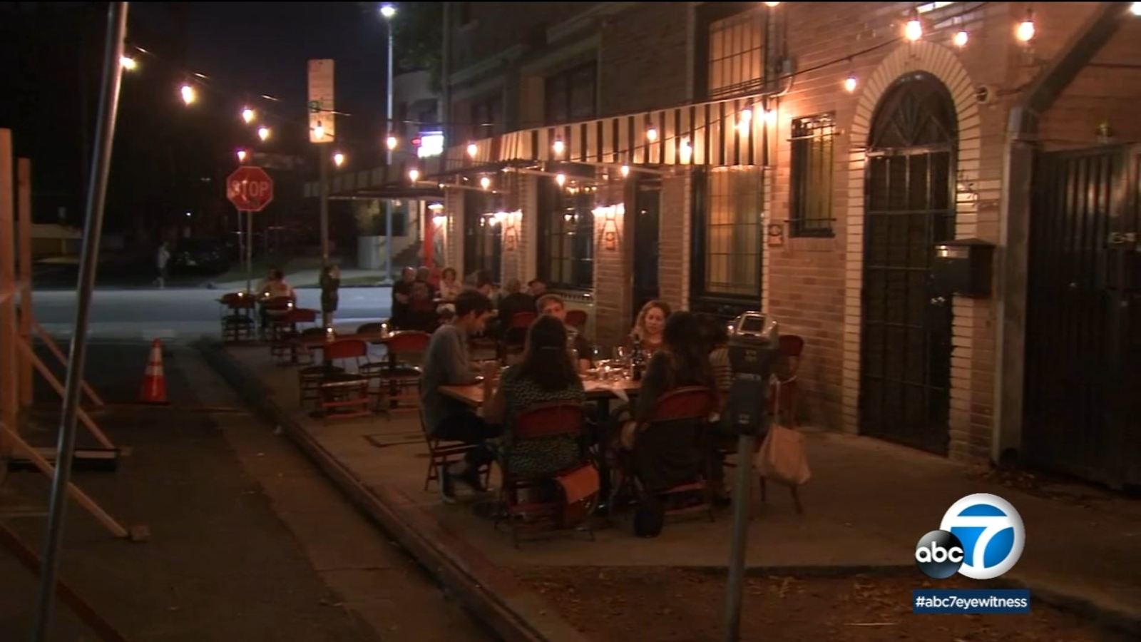 Outdoor dining may become permanent option in Los Angeles