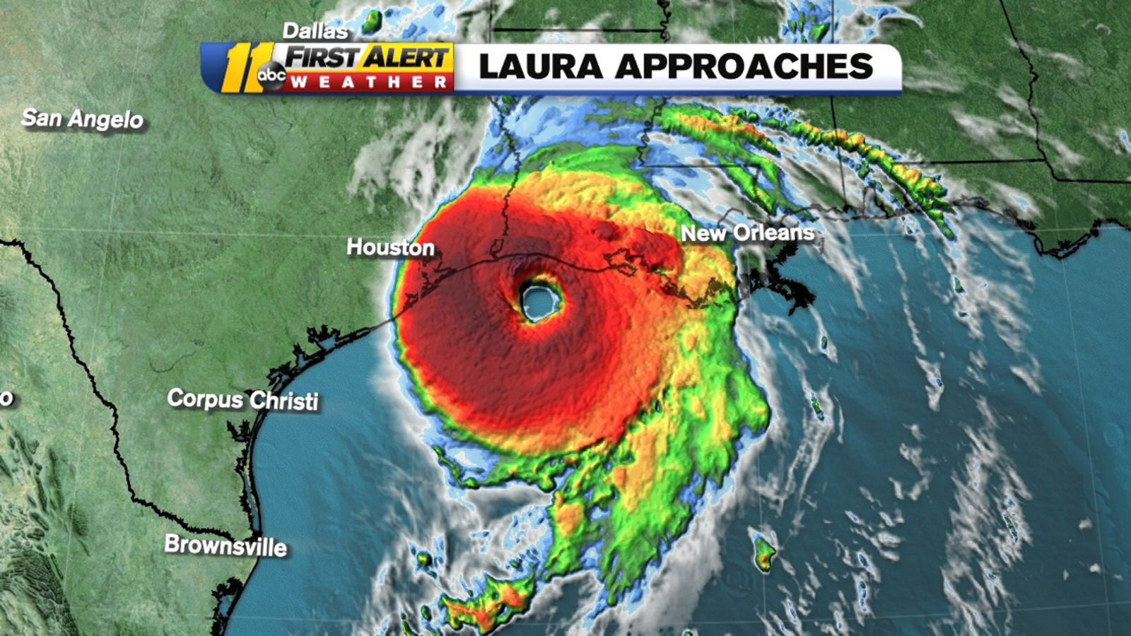 Hurricane Laura Remains A Dangerous Category 4 Storm Glbnews Com