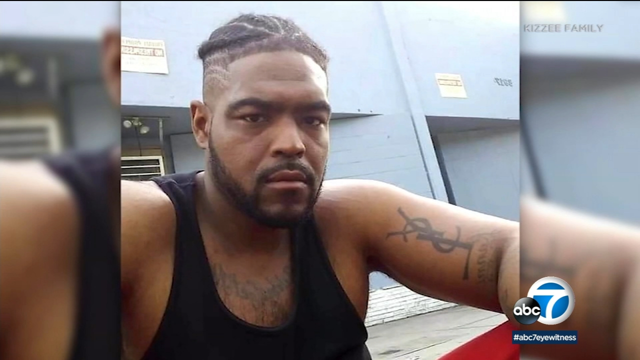 Dijon Kizzee, 29, was shot and killed in a confrontation with Los Angeles County sheriff's deputies in South Los Angeles on Monday, Aug. 31, 2020.