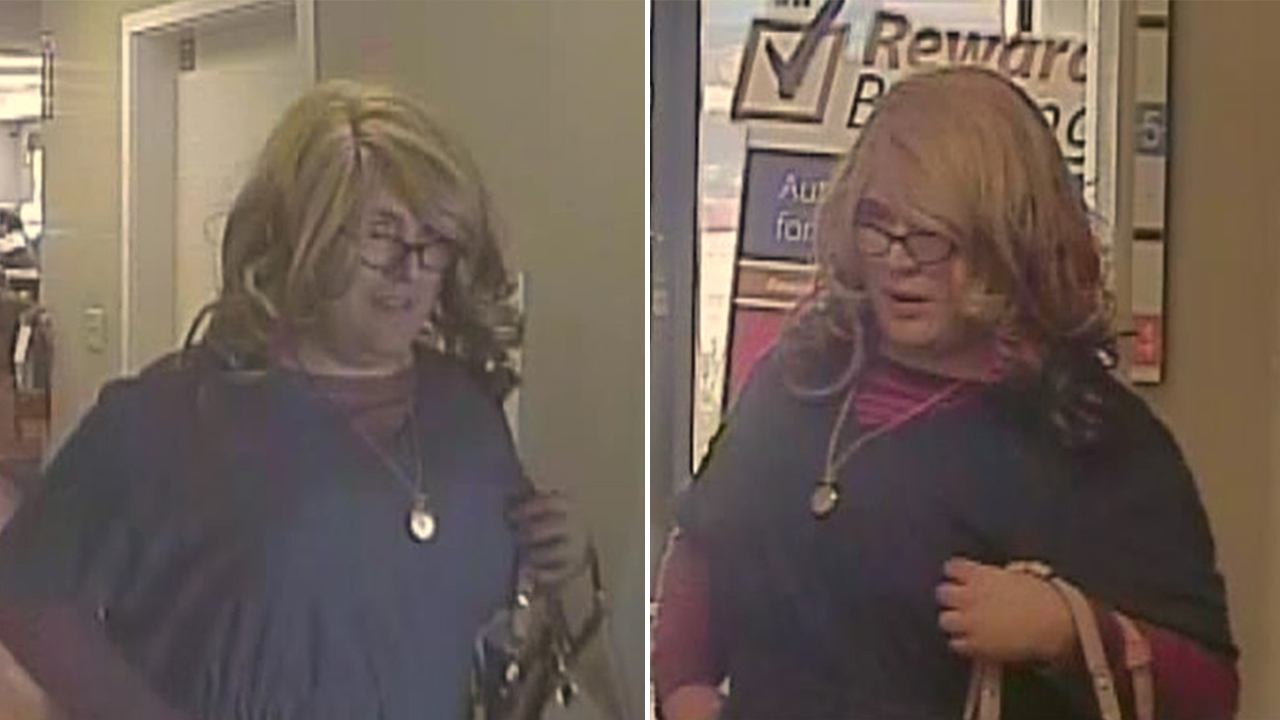 Mrs. Doubtfire bank robbery suspect