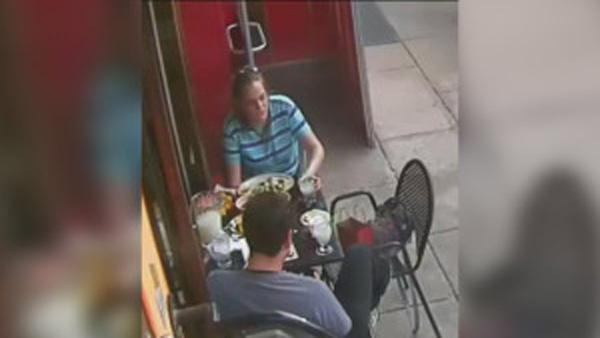 Backpack containing gun stolen from Kensington restaurant