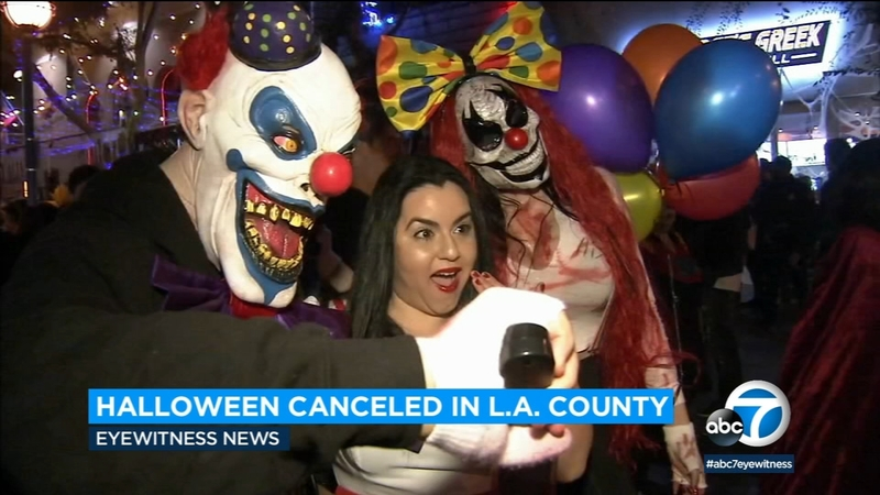 Halloween Costume Parties Inland Empire 2020 Los Angeles County cancels Halloween 2020, says no trick or