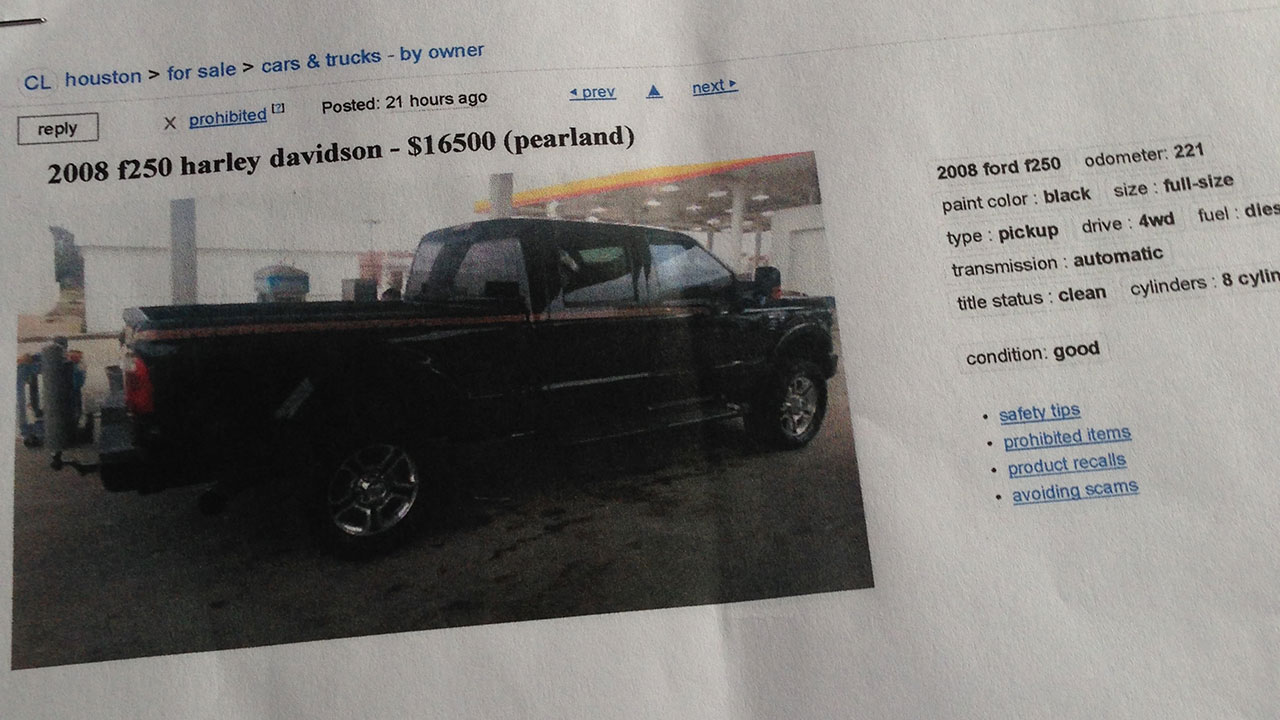 Couple Looking To Buy Truck Makes 15 000 Mistake Abc7 Los Angeles