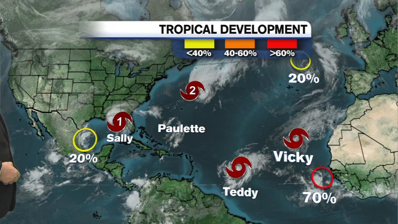 Hurricane Sally Tracker Predicts Historic Life Threatening Flooding In Mississippi Alabama Florida Nhc Noaa Abc7 New York