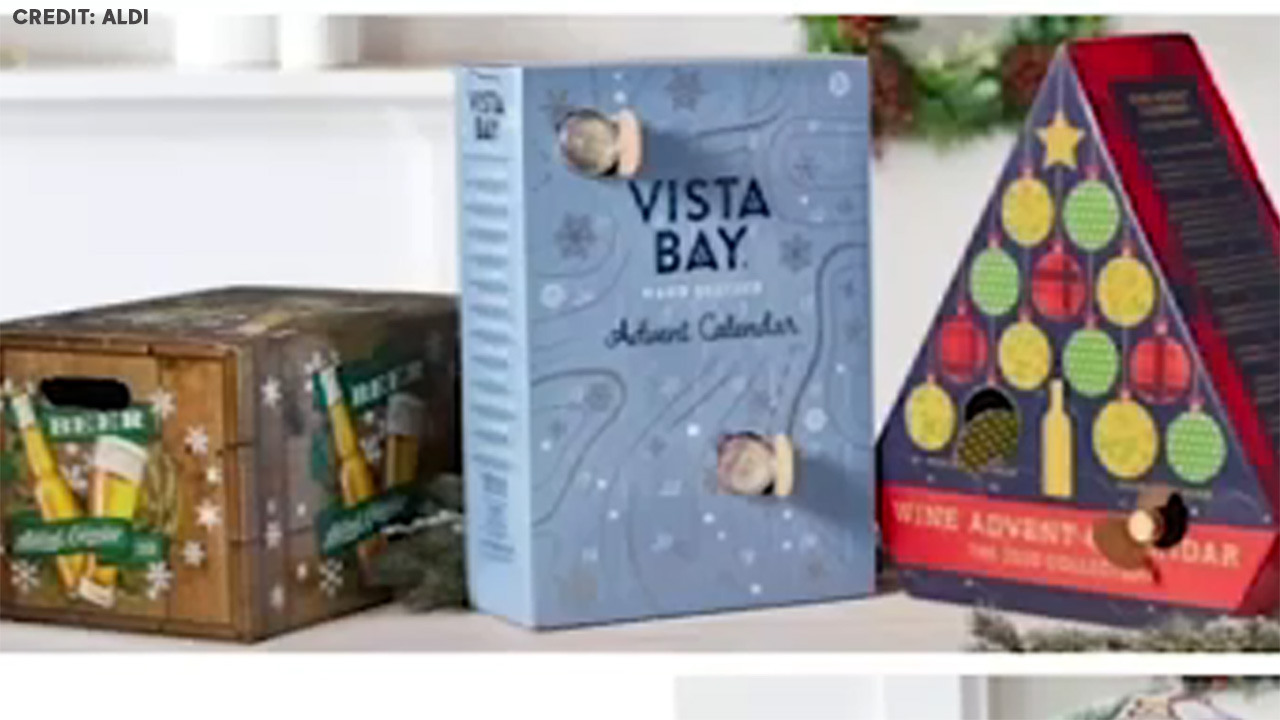Holiday cheers: Aldi announces this year's advent calendar collection